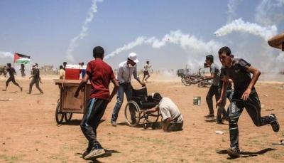 مقتل شاب بنيران قوات الاحتلال الإسرائيلي خلال احتجاج في غزة