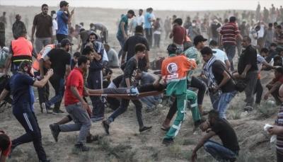 """الاحتلال الإسرائيلي قتل 183 فلسطينيا في غزة منذ انطلاق مسيرات """"العودة"""""""