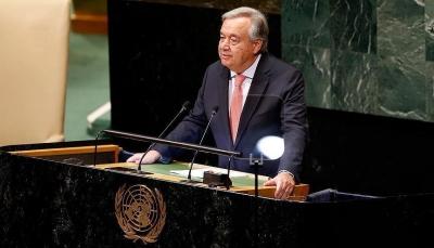 غوتيريش: انقسامات صارخة بمجلس الأمن والنظام العالمي أكثر فوضي