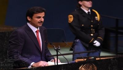 """أمير قطر يعلن دعم محاربة """"وباء الكوليرا"""" في اليمن بالتعاون مع الأمم المتحدة"""