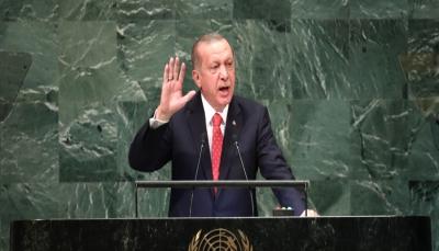 """شاهد - أردوغان يخرج من قاعة الأمم المتحدة أثناء كلمة """"ترمب"""""""