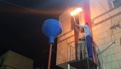 """إيقاد شعلة سبتمبر في محافظات """"الجوف- صعدة- البيضاء- الضالع"""" (صور)"""
