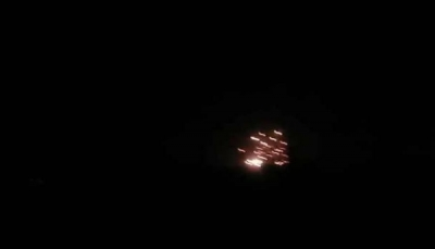دفاعات التحالف تدمر طائرة مسيرة في سماء عدن