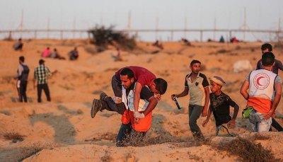 6 شهداء بينهم طفلان و90 مصابا برصاص قوات الاحتلال شرق غزة