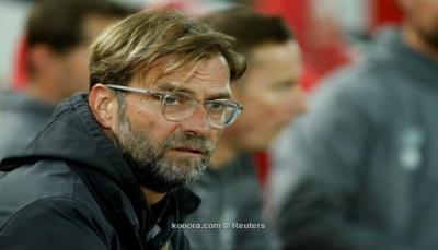 """كلوب: """"خروج ليفربول من البطولة لا يساعده"""" في سباق الدوري الانجليزي"""