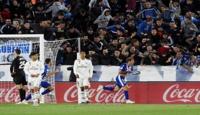 بطعنة قاتلة.. ريال مدريد يتعثر أمام ألافيس ويواصل نزيف النقاط