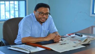باسليم يبحث مع مدير مالية عدن صرف الزيادة برواتب الإعلاميين