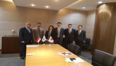 اليمن تبحث مع اليابان إعادة تأهيل المجمعات القضائية وتأهيل القضاة