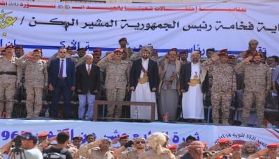 مأرب: عرض عسكري بمناسبة الذكرى الـ55 لثورة أكتوبر وتخرج دفعة من الشرطة العسكرية