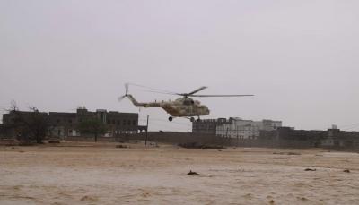 محافظ المهرة: طائرات الإنقاذ لم تتمكن من الوصول إلى ثلاث مديريات بالمحافظة