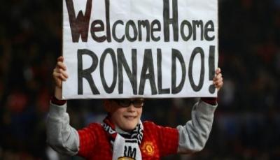"""عودة رونالدو """"المتعطش"""" تقلق مانشستر يونايتد في دوري الأبطال"""