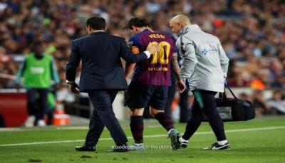 برشلونة يُخفف من صدمة إصابة ميسي