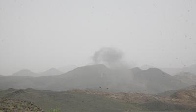 مقتل ثمانية حوثيين واصابة اخرين بغارات للتحالف في نهم شرق صنعاء