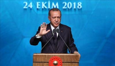 أردوغان: سنعلن عن الأدلة الجديدة حول مقتل خاشقجي للرأي العام العالمي
