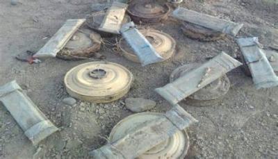 """إصابة أربعة أطفال بإنفجار لغم أرضي زرعته مليشيا الحوثي في """"الحديدة"""""""