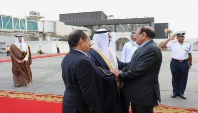 """نائب الرئيس يصل البحرين للمشاركة في """"قمة حوار المنامة 14"""""""
