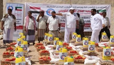 الكويت تدشن حملة إغاثية لمتضرري إعصار لبان في المهرة
