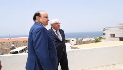 """اليماني: الرئيس هادي سيلتقي """"غريفيث"""" لتحديد أجندة المشاورات المرتقبة"""