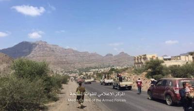 مع وقع الانتصارات المتلاحقة.. الجيش الوطني في مريس ودمت يصدر بيانا هاما (بيان)