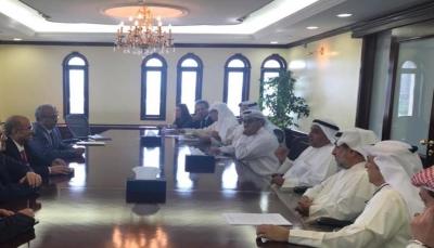 وزير التخطيط يبحث إمكانية استئناف تنفيذ المشاريع الممولة من الصندوق الكويتي