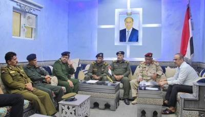 وزير الداخلية يؤكد على أهمية إعادة افتتاح كلية الشرطة في حضرموت