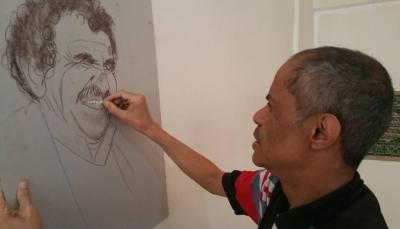 """الأشرار والأخيار يجتمعون في لوحات الفنان """"شهاب المقرمي"""""""