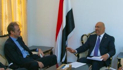 فرنسا تؤكد دعمها لجهود المبعوث الأممي استئناف العملية السياسية في اليمن