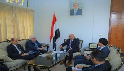 """الحكومة تدعو الأمم المتحدة للتعاون معها لدعم وتعزيز عمل البنك المركزي بـ""""عدن"""""""