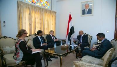 وزير الخارجية: نتعامل بايجابية مع دعوات المبعوث الأممي لانهاء معاناة شعبنا اليمني