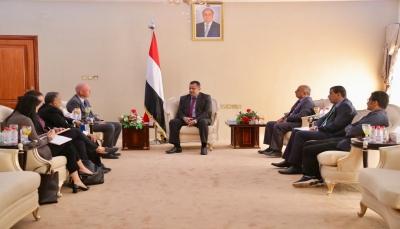 الحكومة تؤكد تعاونها مع الأمم المتحدة لتحقيق التنمية المستدامة في اليمن