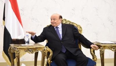 """العليمي يطمئن اليمنيين على صحة الرئيس ويؤكد أن """"تحرير الحديدة أمر لا مفر منه"""""""
