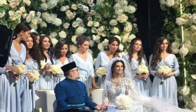 ملك ماليزيا يفاجئ العالم بزواجه بملكة جمال روسيا بعد أن أعلنت إسلامها (صور)