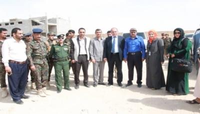 مدير شرطة مأرب يلتقي وفد مفوضية الأمم المتحدة السامية لحقوق الإنسان