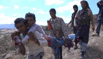 """الضالع: إصابة مصور تلفزيوني جراء انفجار لغم زرعته مليشيات الحوثيبـ""""مريس"""""""