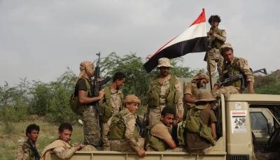 """البيضاء: مقتل 40 عنصرا حوثيا وإسقاط طائرة مسيرة في جبهة """"قانية"""""""
