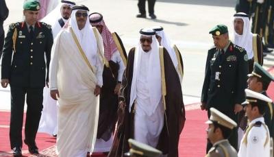أمير قطر يتلقى دعوة من الملك سلمان لحضور القمة الخليجية في الرياض
