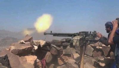 الضالع: قتلى وجرحى من مليشيات الحوثي في مواجهات مع الجيش جنوب دمت
