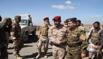 """تعز: اللواء الرابع يسلم النقاط الأمنية في """"التربة"""" للقوات الخاصة"""
