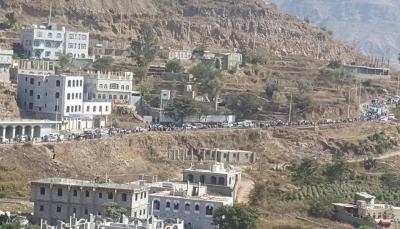 """مظاهرات حاشدة في إب للمطالبة بالقصاص من قاتل الطفلة """"آلاء الحميري"""" - صور"""