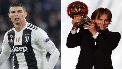 كريستيانو: أهنئ مودريتش.. لكني أستحق الكرة الذهبية كل عام