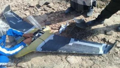 """الجيش يعلن إسقاط طائرة استطلاع حوثيه في """"جبهة مريس"""" بالضالع"""