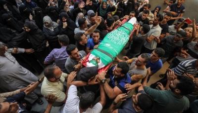 مقتل شخص وإصابة 75 متظاهرا فلسطينيًا برصاص قوات الاحتلال شرقي غزة
