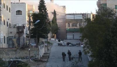"""الاحتلال الإسرائيلي يعيد تفجير مبنى """"أم البنين"""" الخمسة المعتقلين مدى الحياة"""