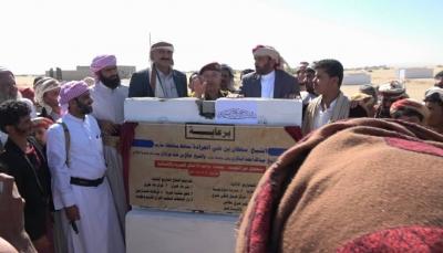 مأرب: وضع حجر أساس لبناء مجمع سكني بتمويل كويتي