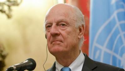 دي ميستورا: فشلنا بإقناع أطراف أزمة سوريا بالاعتراف ببعضهم كمحاورين