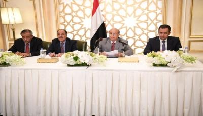 """الرئيس هادي يلتقي أعضاء مجلس النواب ويوجه بصرف مرتباب موظفي """"الحديدة"""""""