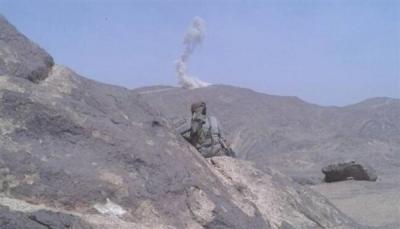 البيضاء: مقتل وإصابة سبعة حوثيين في مواجهات مع الجيش بالملاجم