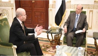 الرئيس هادي: نحن في مرحلة اختبار للإرادة الدولية ولن نتخلى عن أي شبر في اليمن