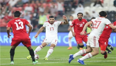 منتخبنا الوطني يخسر من نظيره الإيراني في أولى مبارياته بكأس آسيا