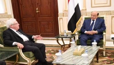 الرئيس هادي: تنازلات الحكومة قابلتها مليشيا الحوثي بصلف وتعنت
